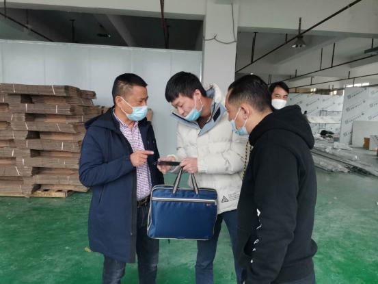 桃江:做好园区防控期间企业安全生产工作